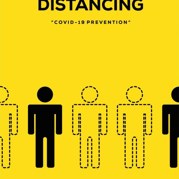 Social Distancing A- Frame_24x36