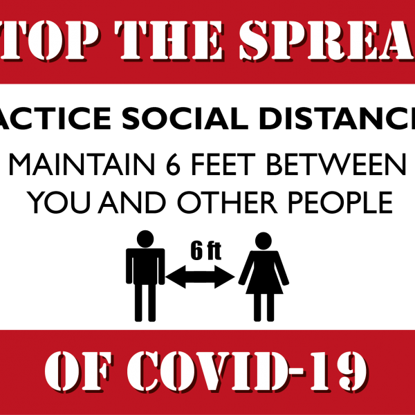 Stop the spread 24x12