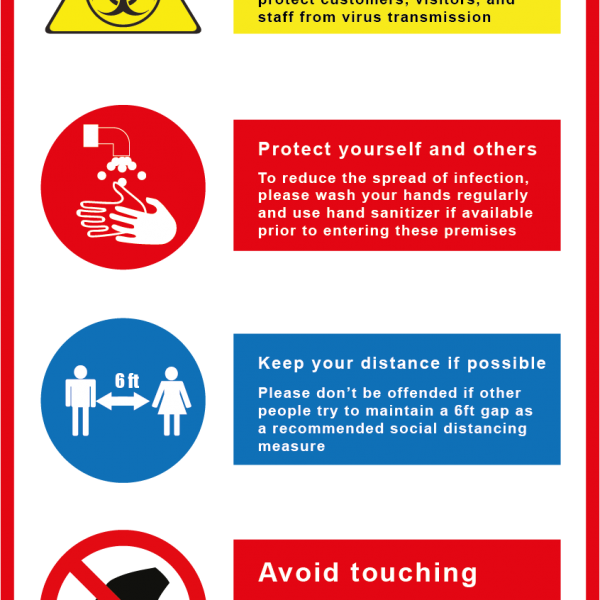 Virus protection 12x18